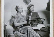 Famous vintage knitters