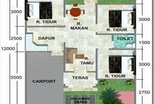 Home Layout / denah rumah