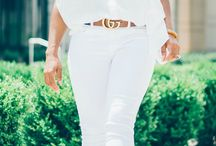 All white outfits