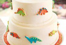 Dinosaur cakes