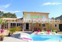 Immobilier LES ARCS SUR ARGENS / Immobilier, annonces immobilières de terrains, maisons, appartements, villas et propriétés à vendre aux ARCS SUR ARGENS dans le Var, sur la Côte d'Azur