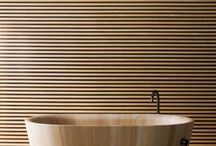 Bathroom Inspiration / Textures and colours that inspire me for the bathroom.