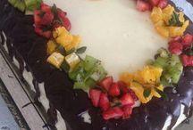 Ganajlı pasta