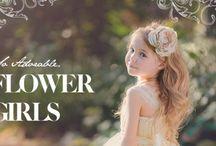 Flower girl/pageboy/花童造型