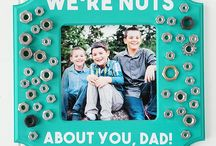 Father's Day / DIY Father's Day crafts, Father's Day gifts, Father's Day food ideas, Father's Day party ideas for Dad, Grandpa, Husband, Father's Day activities, Father's Day presents