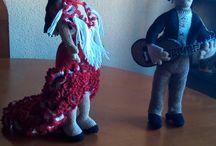 pareja de flamencos
