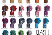 ORLY Flash Glam  / Flash! Flash! Flash! Risplendi, brilla e trasforma con ORLY Flash Glam FX ... la nuova collezione Smalti ORLY che accende di luce e fascino la tua bellezza! Regala alle tue unghie un manicure unico con uno strabiliante effetto tridimensionale sovrapponendo gli Smalti della Collezione ORLY Flash Glam FX