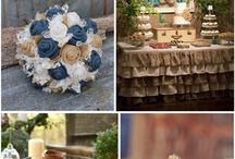 Hessian rustic ideas