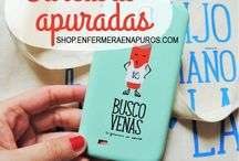 Tienda apurada / Productos con ilustraciones para enfermeros que podrás encontrar en shop.enfermeraenapuros.com