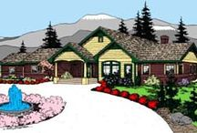 Dream Home / Ranch, open layout, at least 2 1/2 baths, 3 -4 bedrooms plus either a  bonus room or a basement. / by Leah Riney