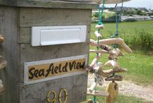 Sea Field View / A self catering holiday cabin in SE Cornwall