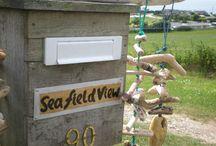 Sea Field View / A cabin on the Rame Peninsula in SE Cornwall