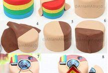 Rainbow fimo