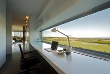 Window and computer desk