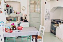 My kitchen / Greek island kitchen