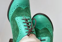 Colourful shoes / I love colourful footware
