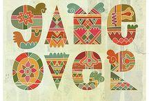 Patterns Art Nouveau