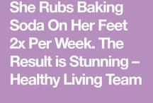 baking soda for feet