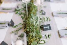 Wedding table decor | Svatební stolování