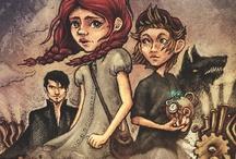 Kerjäläisprinsessa - The Beggar Princess / Nuorille suunnatun steampunk-trilogian aloittava osa (Karisto 2012).  A steampunk novel for younger readers (Karisto Publishing, 2012).