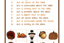 Thanksgiving Activities for ESL/ELL Kids / by Laurie Moulton (Elementary ESL)