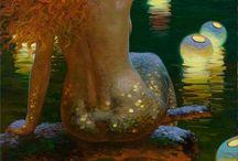 Mermaids - Fairies - Angels / All things beautiful, Mermaids, Fairys and Angels....