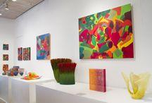 Gerri Rachins: Work on Paper Paintings - Mobilia Gallery