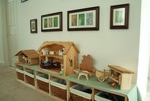 Play Room Inspiration / by Becky Harris
