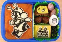 kyaraben / これまで作った海苔カットお弁当やキャラ弁など^ ^