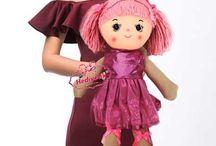 Oyuncak Balerin Bezbebek Renkli Şık Elbiseli Sevimli Bebek 50 cm