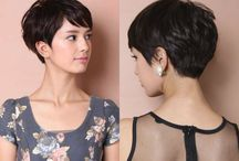 pixie ideas / Ideas for makeup and style in my brand new life with pixie cut.