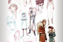 Nuno's Character design