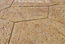 Concrete Stamping / concrete, concrete stamping, patio