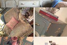 1 Peu de Tout La petite Brocante.Creuse.New Shop.Annie Sloan Chalk Paint Revendeur❤️ / New Country Shop...Chalk Paint..Creuse..France