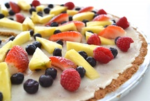 FOOD - Desserts - Vegetarian, Vegan, Gluten-Free / A variety of decadent desserts that are good for you.