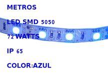 5050 AZUL IP 65 300 LED'S 5 METROS