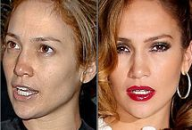 celebrities without make up. / by Yvonne Evans