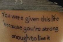 Byl ti dán tento život, protože jsi dost silný na to, abys žil