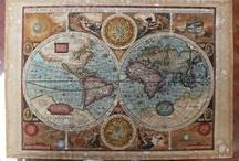 Maps / by Emily Hammock Mosby