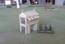 Barricata in legno 1:160 scala N