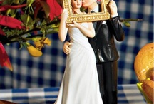 Creative Cake Toppers / Cake toppers are a small way to let your personality shine at your wedding.