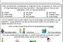 Emotional worksheets