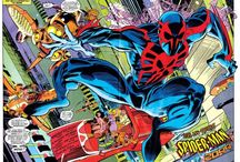 Spider-Man 2099 / Great images of Miguel O'Hara, aka, Spider-Man 2099