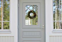 ovi ja kuisti