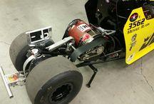 Electric Motor Junior Jr. Dragster Racing