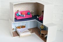 Doll house / DIY project (PYP materials unit)