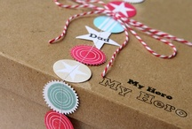 Gifts and Wrapping / by Merriment Design :: Kathy Beymer