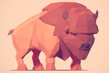 Lowpoly/vector inspirations