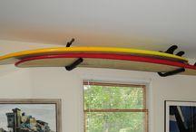 Storage: surfboard storage
