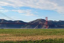 Golden Gate Bridge / Happy 75th Anniversary to our beautiful landmark! / by Mary and Diane Tee # 01am